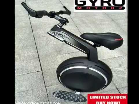 Gyromotorz R3 One Wheel Self Balancing Bike Electric Scooter