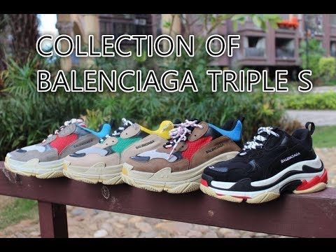Selling Balenciaga Triple S Size 43 Luxury Shoes on Carousell