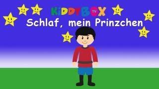 Schlafe, mein Prinzchen - Kinderlieder zum Mitsingen - (KIDDYBOX.TV) Karaoke Lyric Songtext