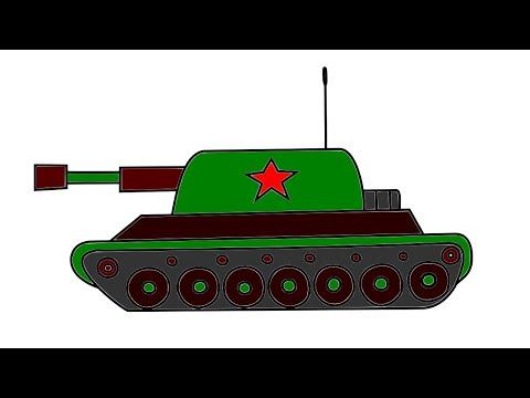 Как рисовать танки