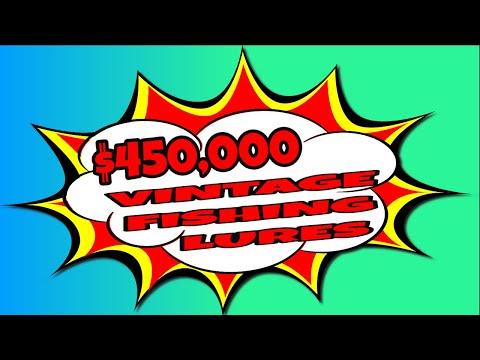 $450,000 ANTIQUE FISHING LURE SHOP