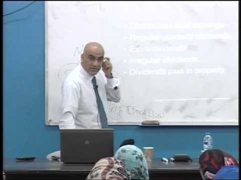 Lecture 19: Stock Valuation