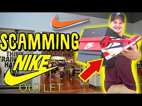 RETURNING $10,000 OF FAKE SNEAKERS TO NIKE OUTLET STORE!! YOU WONT BELIEVE THIS!