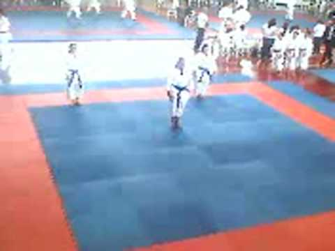 Equipe de Kata Santo André- Jogos Abertos 2008 - C...