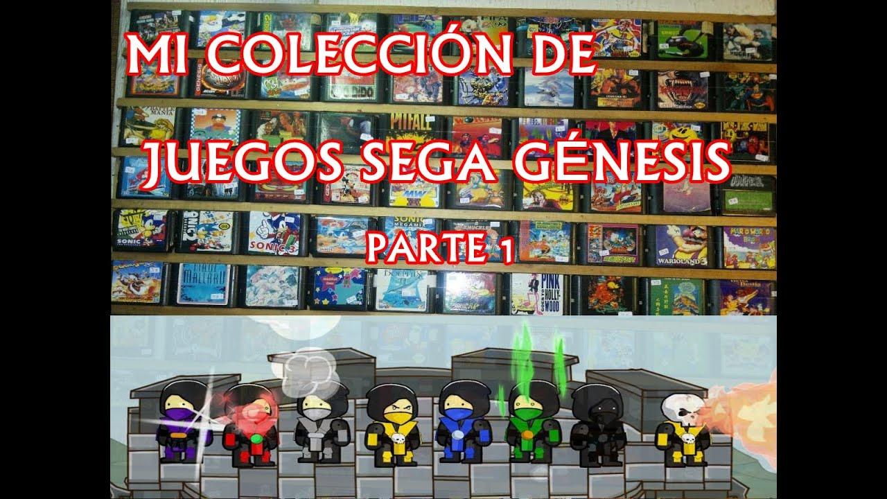Mi Coleccion De Juegos Sega Genesis Parte 1 Youtube