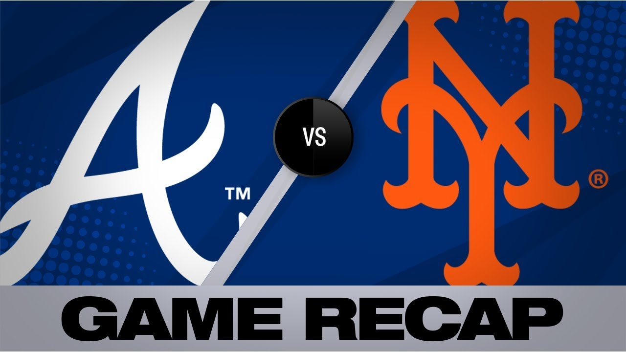 Cervelli's 3 RBI's leads Braves to 9-5 win   Braves-Mets Game Highlights 8/24/19
