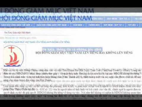 Đức GM Phụ tá Sài Gòn Phêrô Nguyễn Văn Khảm nói về Nữ Vương Công Lý