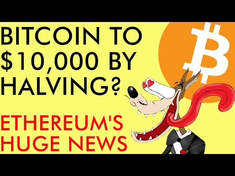 $10,000 Bitcoin By Halving, IF Key Resistance Breaks! HUGE ETHEREUM NEWS Will Rocket Price!