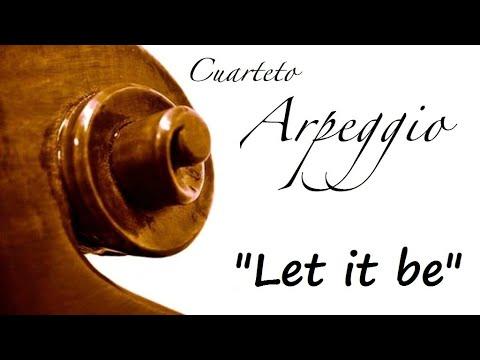 Música para bodas Asturias - Let it be, The Beatles - Cuarteto Arpeggio en el I