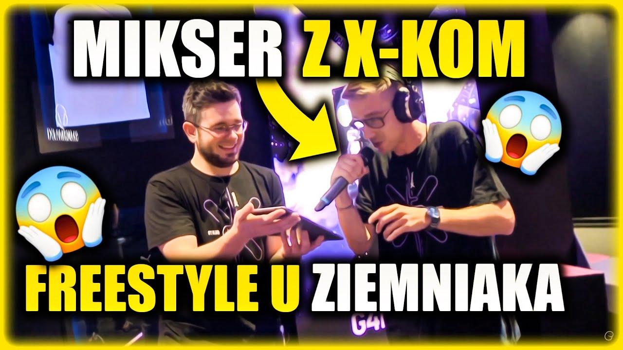 ZIEMNIAK - MIKSER FREESTYLE Z CZATU! *strefa gracza x-kom*