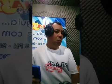 Locutor Amauri Santos-Rádio Águia Dourada FM 87,5  21 /10- Luciano Ribeiro- Locutor-