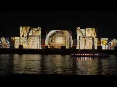 World Biggest  projection 3d mapping area