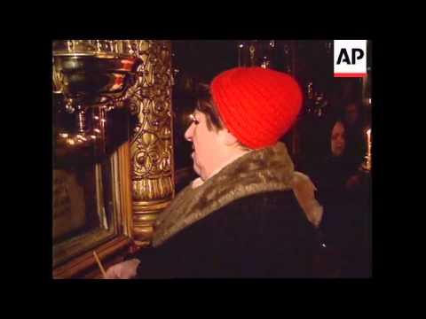RUSSIA: BORIS YELTSIN AGAINST CHECHNYA PEACE TALKS CLAIM