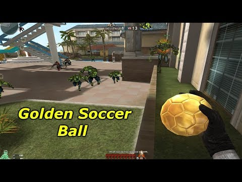 CrossFire West: Golden Soccer Ball (Melee Only)