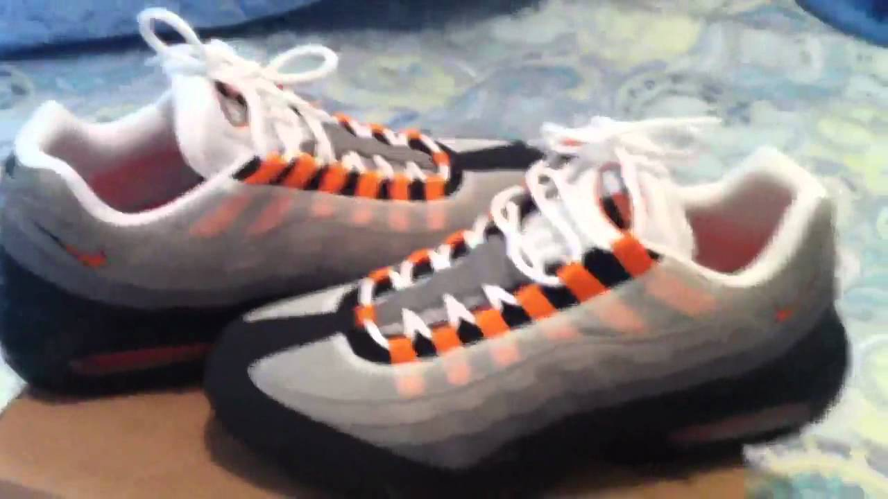 new concept 2cd37 7ad74 Air Max 95 Team Orange review
