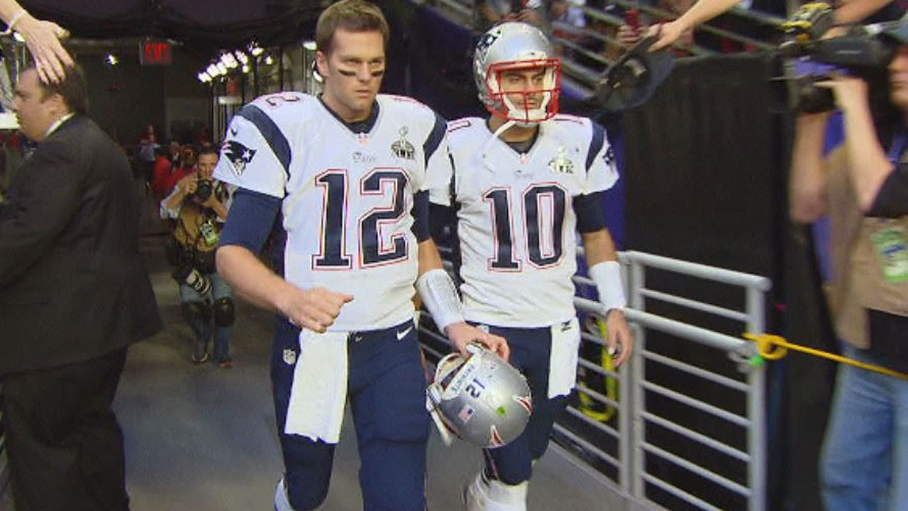 Did A Member Of The Media Steal Tom Brady s Missing Super Bowl Jersey  3134281c2