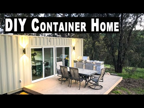 Self Built Shipping Container Home | FULL TOUR