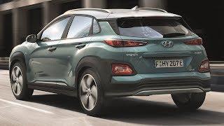 2019 Hyundai KONA Electric interior Exterior and Drive