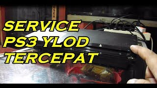 Memperbaiki PS3 YLOD dalam waktu 1 menit !!