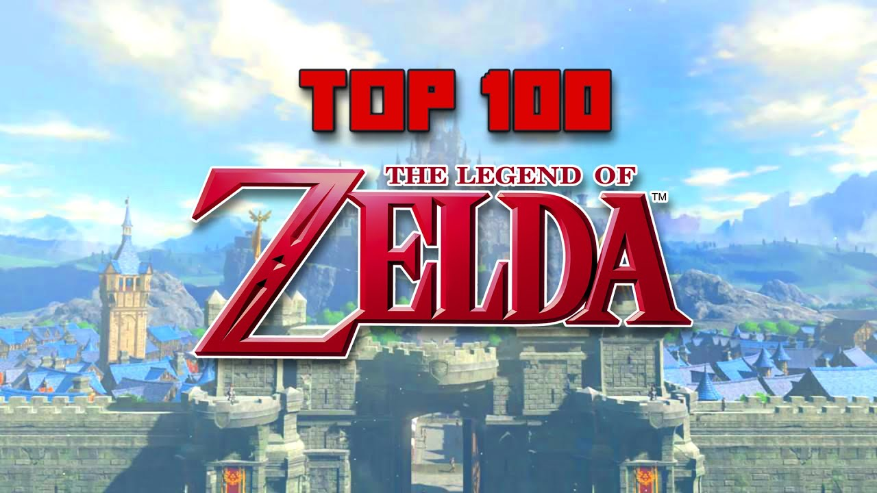 Top 100 Legend of Zelda Songs of All Time (2021)