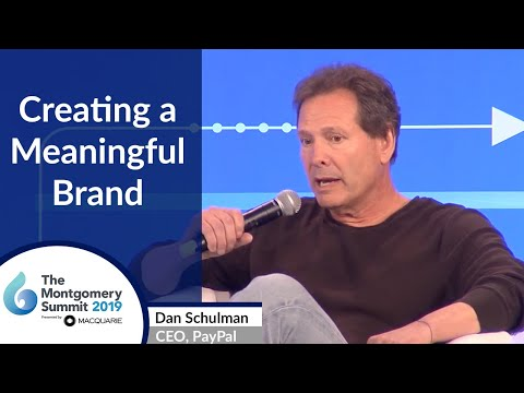 Dan Schulman, PayPal Keynote Interview at The Montgomery Summit 2019