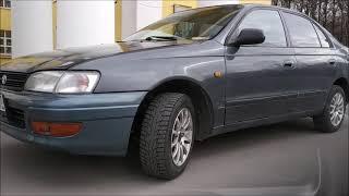 Обзор и тест драйв Toyota Carina E 1993 года!  Тойота карина е!  JDM Легендарная...