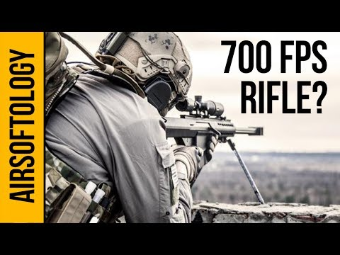 700 FPS Sniper Rifle at an Airsoft Game?!?! | Airsoftology Q&A Show