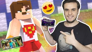iPHONE X'de MİNECRAFT OYNAMAK
