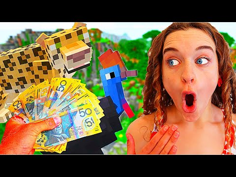 LAST TO SURVIVE THE JUNGLE WINS $1000 Minecraft Gaming W/ The Norris Nuts