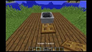 Minecraft Tutoriaalit #6   Miten tehdä TOIMIVA tuoli?
