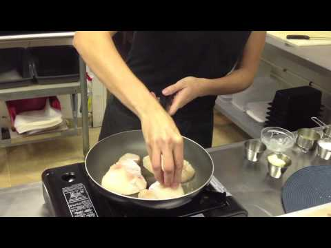 Fisherman's Market Recipes:  Halibut Cheeks With Creamed Leeks