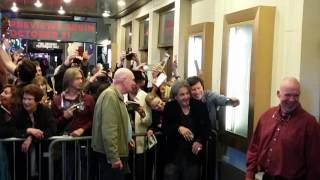 AL PACINO COMING OUT OF BROADWAY THEATRE IN NYC