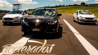 FORD FOCUS x HONDA CIVIC x PEUGEOT 408 - VR C/ BARRICHELLO #90 | ACELERADOS (ENGLISH SUBTITLES)