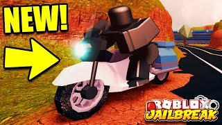 Jailbreak PLAYING THE NEW UPDATE EARLY... Kinda | NEW POLICE MOTORCYCLE | Roblox Jailbreak Update