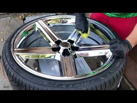 How To Polish Chrome Wheels/ Water Spot Removal