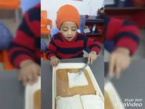 Sandwich Making Activity - Junior Section
