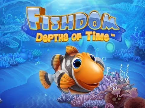 Fishdom Depths of Time Game Play | fish cartoons games for children - free games for kids