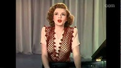 Judy Garland Sang (Thousands Cheer)