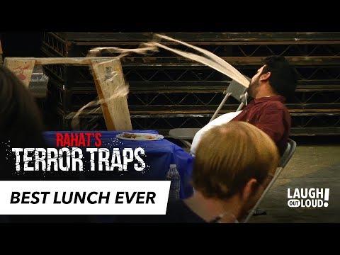 Disgusting Soup Spewing Prank | Rahat's Terror Traps