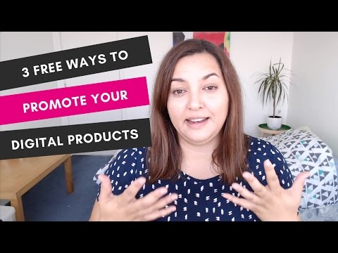 My 3 Free Tips on How to Promote Your Digital Products | Free Marketing Strategies for Bloggers