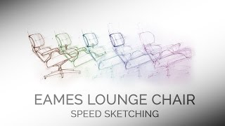 Speed Sketching the Charles & Ray Eames Lounge Chair