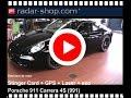 Porsche 911 S 997 Detecteur radar Stinger Card