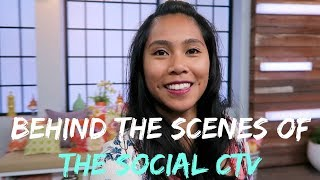 Behind the Scenes of The Social CTV in Toronto - Travel with Arianne - Travel Canada #11