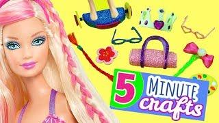 100 Diy Miniature Barbie Dollhouse Accessories 2 Simplekidscrafts