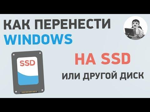 Как перенести Windows на SSD? Клонирование диска с Windows