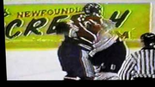 terry ryan vs shawn thornton hockey fight ahl fights 1998 99 mov