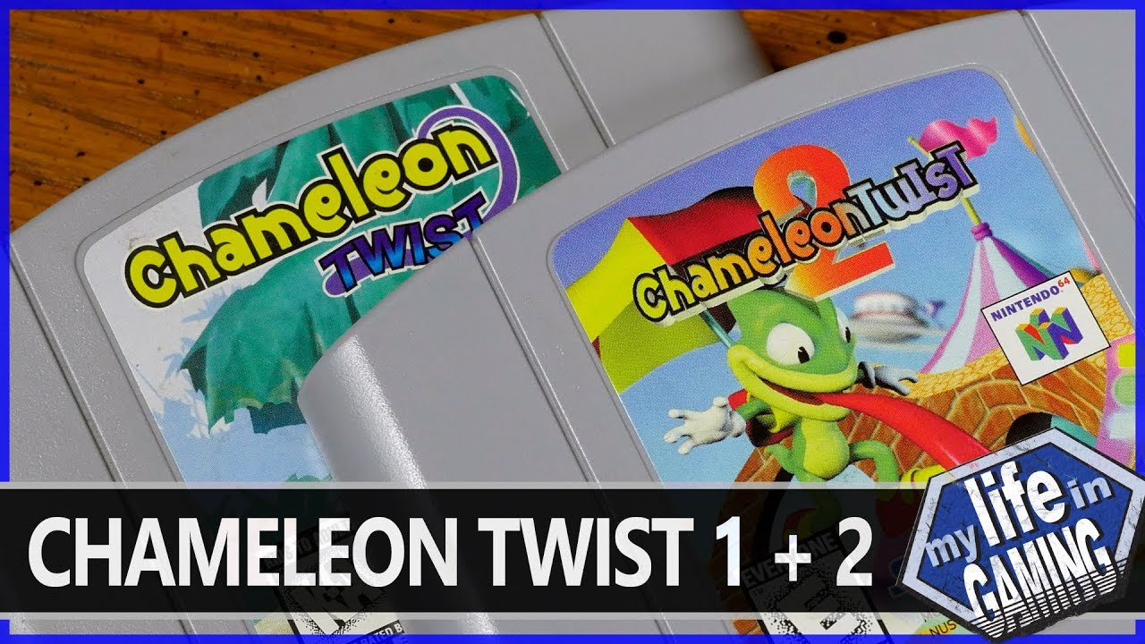 Chameleon Twist 1 2 Awesome N64 Platormers My Life