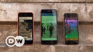 Rio'da hayatta kalmanın yolu App'ler - DW Türkçe