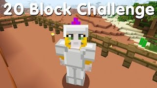 Minecraft PS4 - 20 Block Challenge - A House With A View (13)