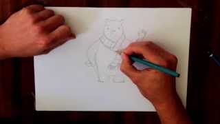How to draw Herman the Bear with Tom Percival